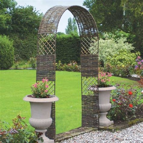 Garden Trellis Arch Uk 13 Inviting And Harmonising Garden Archway For Simple