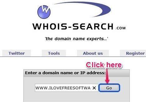 Whois Lookup Free 20 Free Whois Lookup Websites