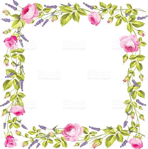 frame clipart frame clipart vintage flower pencil and in color frame