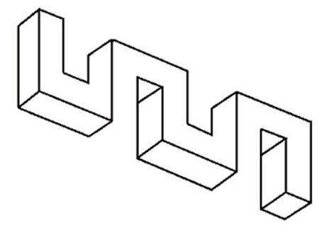 ilusiones opticas para dibujar faciles objetos imposibles para ni 241 os