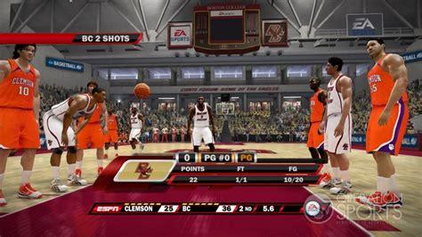 ncaa basketball 10 ps3 roster ncaa basketball 10 screenshot 12 for xbox 360 operation