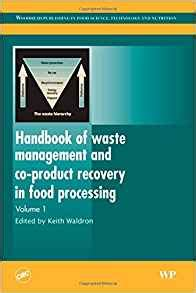 waste management and resource recovery books handbook of waste management and co product