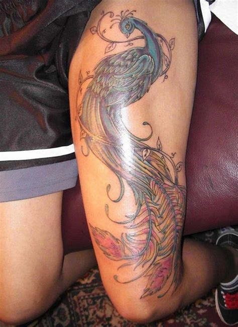 feminine thigh tattoos 50 thigh tattoos for
