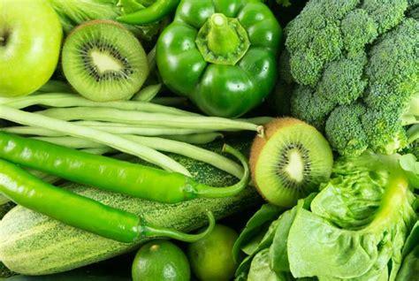 imagenes frutas verdes frutas y verduras de color verde