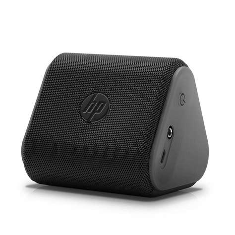 Speaker Bluetooth Hp hp black roar mini speaker p6n15aa abl computers accessories