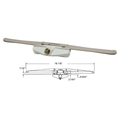 window awning hardware truth hardware 16 1 8 quot roto gear awning window operator
