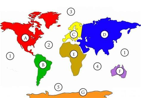 world map quiz continents map of continents and oceans holidaymapq