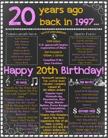 gifts for 20 year best best 25 20th birthday gifts ideas on 20th