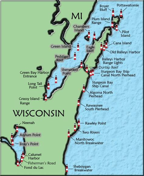 25 best ideas about door county map on goo