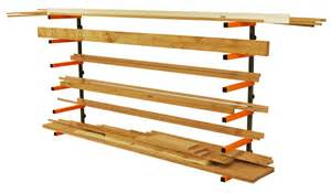 portamate wood storage lumber organizer rack wall mount