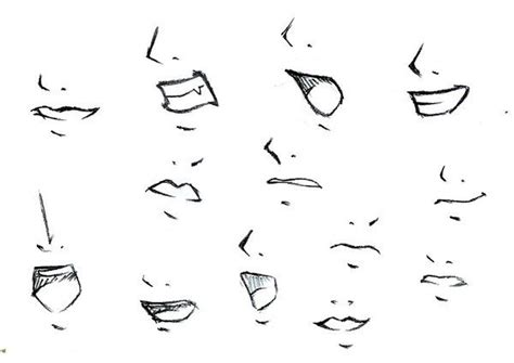 Anime Nose by Anime Noses And Mouths Www Pixshark Images