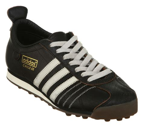 adidas chile 62 made in 05 lyst adidas chile 62 black bone leather 2 in black for