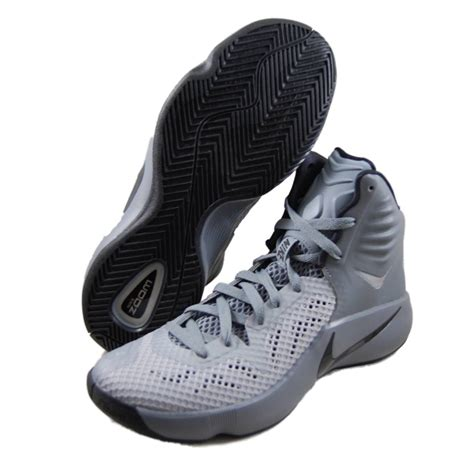 nike basketball 2014 shoes nike mens zoom hyperfuse 2014 grey basketball shoes 684591