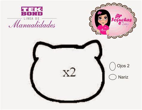 como hacer la cabeza de hello kity para disfraz como hacer bolsita de hello kitty en goma eva