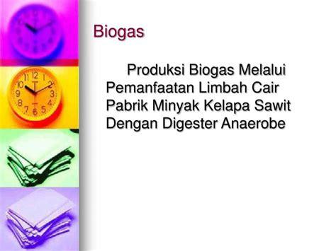 Produksi Minyak Kelapa ppt limbah industri minyak kelapa sawit powerpoint