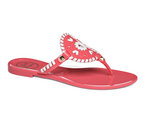 rogers jelly sandals rogers georgica jelly sandal in lyst