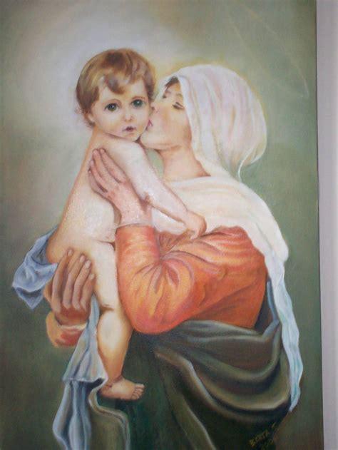 imagenes de la virgen maria y el nino la virgen y el ni 209 o berta sanchez cabrera artelista com