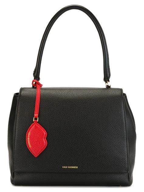 Lulu Guinness Shaped Handbags by Lulu Guinness Handbag In Black Lyst