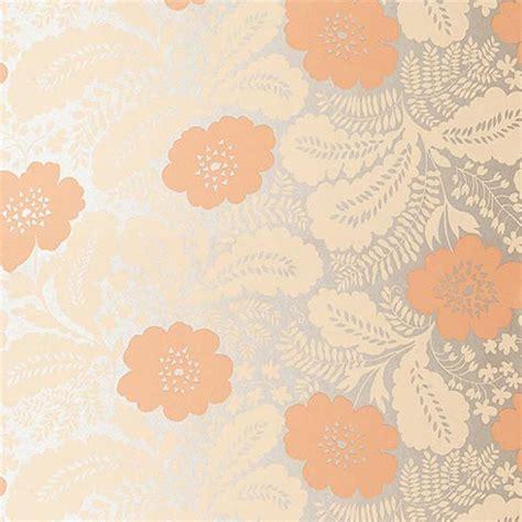 salmon pink wallpaper uk ash salmon pink on metallic coral at10081 wp047