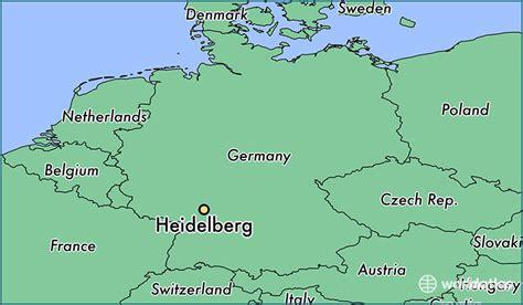 map heidelberg germany where is heidelberg germany where is heidelberg