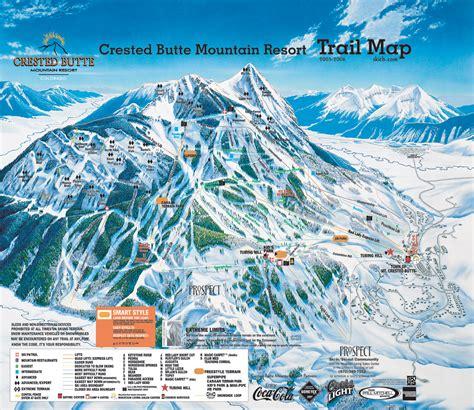 ski resort map usa crested butte mountain resort skimap org