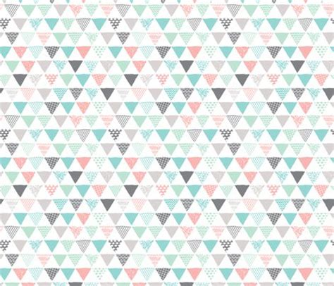 Tribal Pattern Pastel Blue | geometric tribal aztec triangle pastel pink and blue