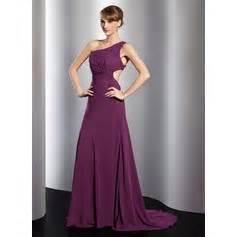 J 48444 Dress Denada empire watteau chiffon evening dress with ruffle beading 017014806 jjshouse