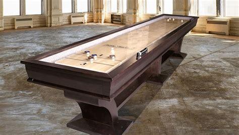 plank and hide shuffleboard table plank and hide shuffleboard