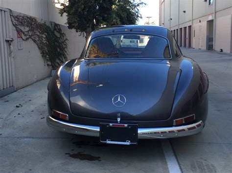 Mercedes 300sl Replica by Would You Drive A Mercedes 300 Sl Gullwing Replica Based