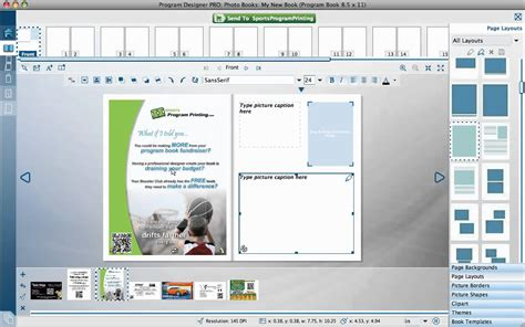 Sports Program Printing Using Page Templates Youtube Sports Program Templates