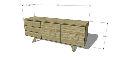 diy furniture plans  build  mid century modern
