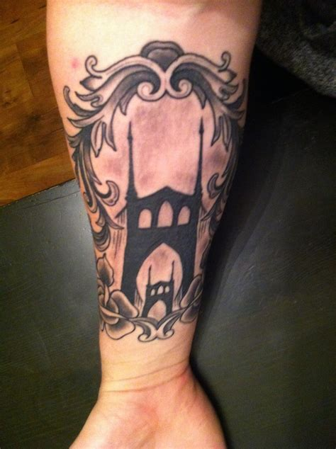 bridge tattoo st johns bridge ink st s