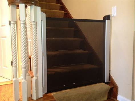 child safety gates for stairs with banisters retractable baby safety gate new york city nyc baby