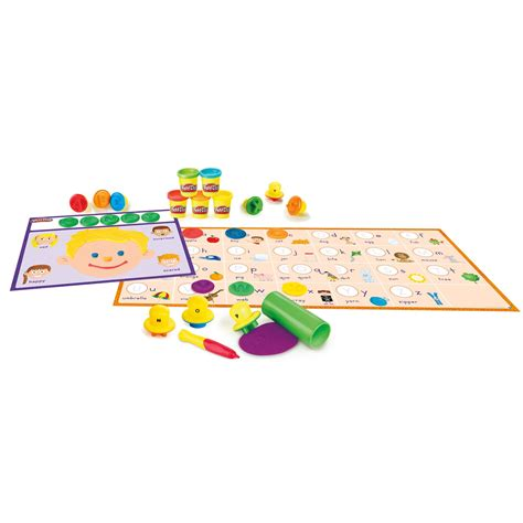 Play Doh Shape N Learn Textures Tools Play Doh Murah play doh shape and learn letters and language toys