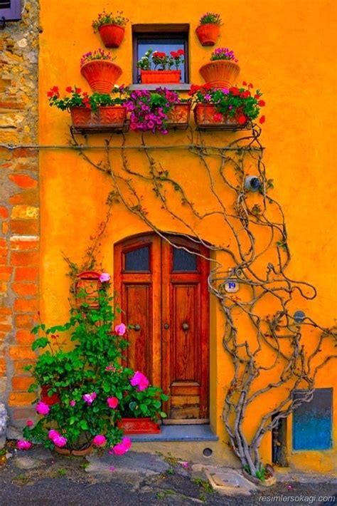 most beautiful door color resimler sokağı yağlıboya resimler g 252 zel ev 231 i 231 ekler