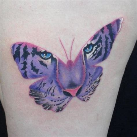 butterfly tattoo tiger eyes 42 tiger butterfly tattoo ideas 2018