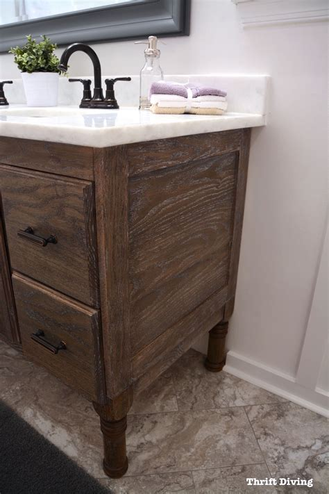 How To Build A 60 Quot Diy Bathroom Vanity From Scratch Make Bathroom Vanity