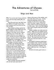 The Adventures of Ulysses : Bernard Evslin : Free Download