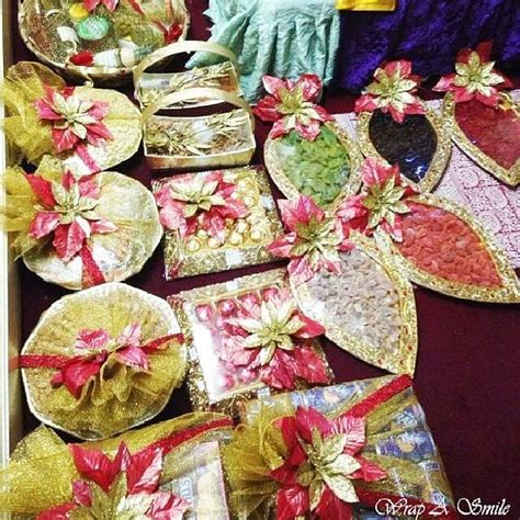 Packing Decoration Marriage by 169 Best Images About Wedding Tray Gift Packing On