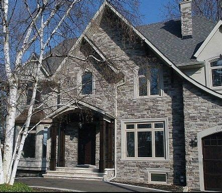 house exteriors with stone and siding exterior home stone siding canyon stone canada house facade pinterest stone