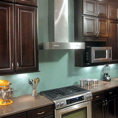 backsplash panels for kitchens glass panel backsplash the house a home
