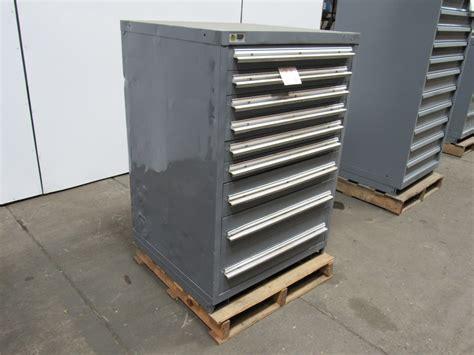 stanley vidmar 9 drawer 44 quot industrial tool parts storage