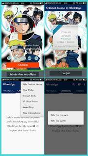Naruto Themes For Whatsapp | kumpulan whatsapp mod apk transparan for android terbaru