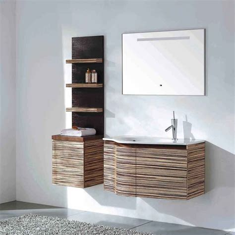 Unique Bathroom Vanities by Solid Wood Bathroom Vanity Set Green Teak Finish Vm V11063