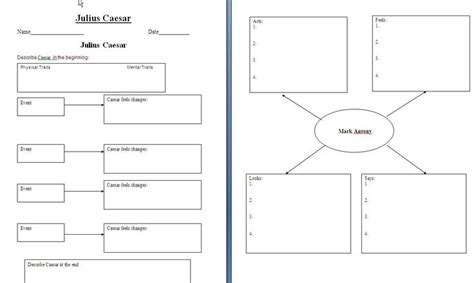 macbeth themes graphic organizer graphic organizer for julius caesar shakespeare julius