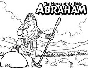 free coloring pages bible heroes abraham the bible heroes coloring page netart