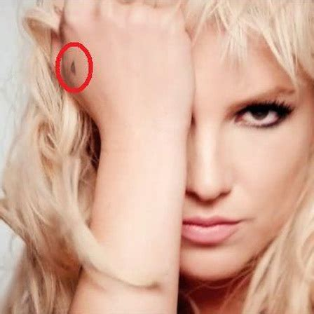 britney spears wrist tattoo triangle pictures to pin on