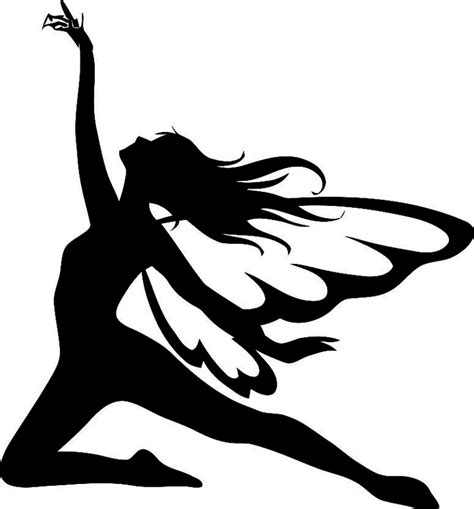 826 best images about stencils 19 best fairies images on pinterest fairy silhouette
