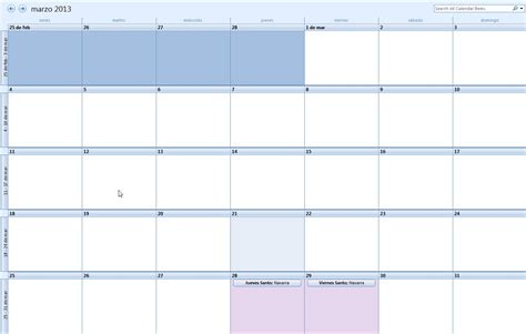 Calendario Outlook Calendario Outlook Calendar Template 2016