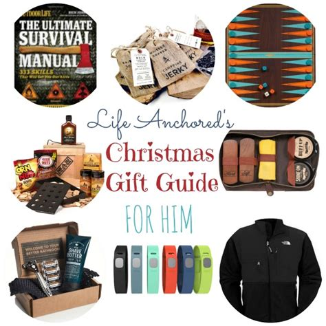 christmas gift guide for him life anchored